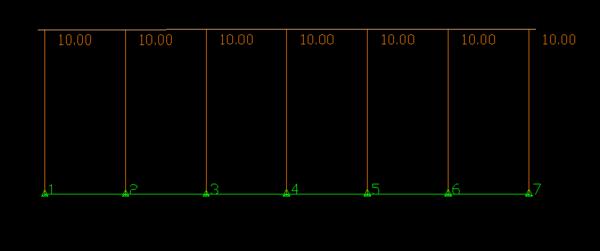 Saída em perfil do TOPGRU vista no CAD.